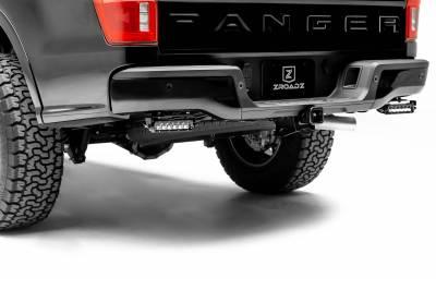 ZROADZ - 2019-2021 Ford Ranger Rear Bumper LED Kit with (2) 6 Inch LED Straight Single Row Slim Light Bars - PN #Z385881-KIT - Image 1
