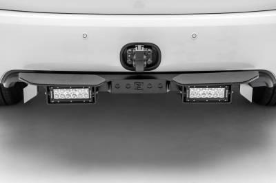 ZROADZ - 2010-2017 Nissan Patrol Y62 Rear Bumper LED Kit with (2) 6 Inch LED Straight Double Row Light Bars - PN #Z387871-KIT - Image 3