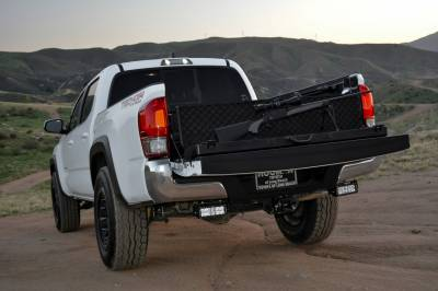 ZROADZ OFF ROAD PRODUCTS - 2016-2021 Toyota Tacoma Rear Bumper LED Bracket to mount (2) 6 Inch Straight Light Bar - PN #Z389401 - Image 4