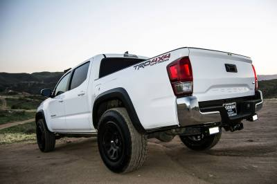 ZROADZ OFF ROAD PRODUCTS - 2016-2021 Toyota Tacoma Rear Bumper LED Kit with (2) 6 Inch LED Straight Double Row Light Bars - PN #Z389401-KIT - Image 4