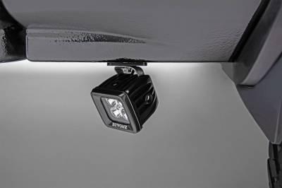 ZROADZ - Universal Panel Clamp LED Bracket to mount (1) 3 Inch LED Pod Lights - PN #Z390001 - Image 1