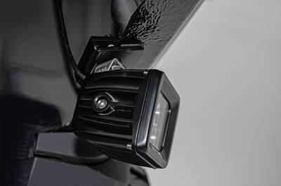ZROADZ - Universal Panel Clamp LED Bracket to mount (1) 3 Inch LED Pod Lights - PN #Z390001 - Image 4