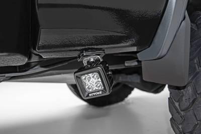 ZROADZ - Universal Panel Clamp LED Bracket to mount (2) 3 Inch LED Pod Lights - PN #Z390002 - Image 1