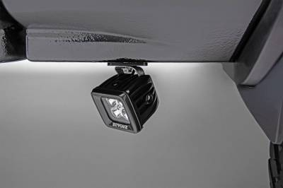 ZROADZ - Universal Panel Clamp LED Bracket to mount (2) 3 Inch LED Pod Lights - PN #Z390002 - Image 3