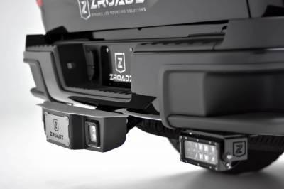 ZROADZ - Universal Hitch Step LED Kit with (2) 3 Inch LED Pod Lights, Fits 2,5 Inch Receiver - PN #Z390011-KIT - Image 1