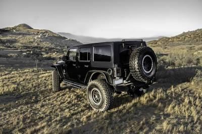 ZROADZ OFF ROAD PRODUCTS - 2007-2018 Jeep JK Rear Window LED Bracket to mount (1) 30 Inch Staight Single Row LED Light Bar - PN #Z394811 - Image 4