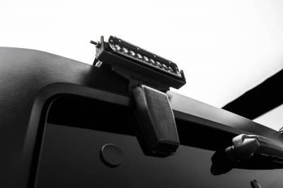ZROADZ - 2007-2018 Jeep JK Rear Window LED Bracket to mount (2) 6 Inch Staight Single Row LED Light Bars - PN #Z394812 - Image 3