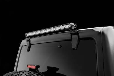 ZROADZ OFF ROAD PRODUCTS - 2018-2021 Jeep JL Rear Window LED Bracket to mount (1) 30 Inch Staight Single Row LED Light Bar - PN #Z394931 - Image 2