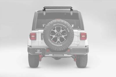 ZROADZ - 2018-2021 Jeep JL Rear Window LED Kit with (1) 30 Inch LED Straight Single Row Slim Light Bar - PN #Z394931-KIT - Image 2