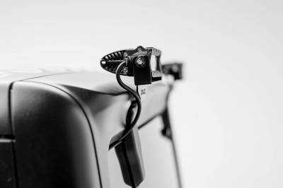 ZROADZ - 2018-2021 Jeep JL Rear Window LED Kit with (2) 6 Inch LED Straight Single Row Slim Light Bars - PN #Z394941-KIT - Image 2
