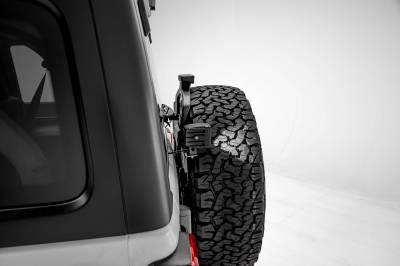 ZROADZ - 2018-2021 Jeep JL Rear Tire LED Kit with (2) 3 Inch LED Pod Lights - PN #Z394951-KIT - Image 5