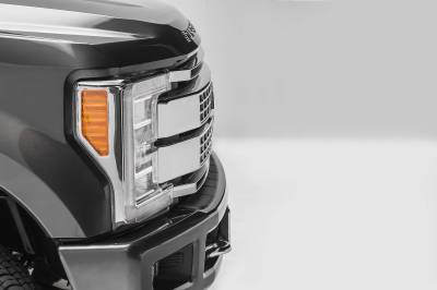 ZROADZ - 2017-2019 Ford Super Duty Platinum OEM Grille LED Kit with (2) 10 Inch LED Single Row Slim Light Bars - PN #Z415671-KIT - Image 5