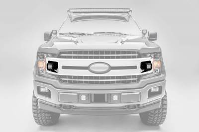 ZROADZ - 2018-2020 Ford F-150 XLT, Sport, Super Crew OEM Grille LED Kit with (2) 3 Inch LED Pod Lights - PN# Z415751-KIT - Image 1