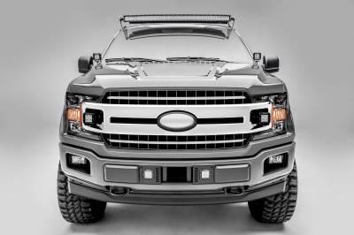 ZROADZ - 2018-2020 Ford F-150 XLT, Sport, Super Crew OEM Grille LED Kit with (2) 3 Inch LED Pod Lights - PN# Z415751-KIT - Image 2