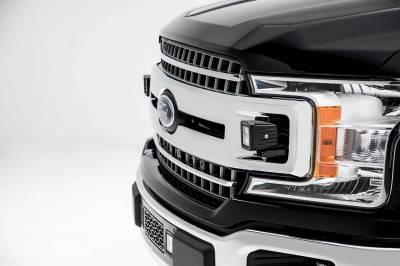 ZROADZ - 2018-2020 Ford F-150 XLT, Sport, Super Crew OEM Grille LED Kit with (2) 3 Inch LED Pod Lights - PN# Z415751-KIT - Image 4