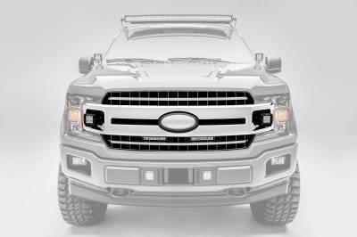 ZROADZ - 2018-2020 Ford F-150 XLT, Sport, Super Crew OEM Grille LED Kit with (2) 3 Inch LED Pod Lights - PN# Z415751-KIT - Image 7