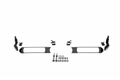ZROADZ - 2017-2019 Ford Super Duty XL OEM Grille LED Kit with (2) 6 Inch LED Straight Single Row Slim Light Bars - PN #Z415771-KIT - Image 6