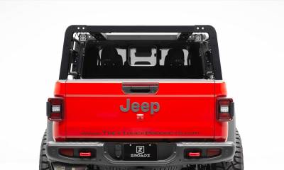 ZROADZ - 2019-2021 Jeep Gladiator Overland Access Rack With Two Lifting Side Gates, Without Factory Trail Rail Cargo System - PN #Z834101 - Image 4