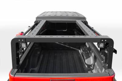 ZROADZ OFF ROAD PRODUCTS - 2019-2021 Jeep Gladiator Overland Access Rack With Two Lifting Side Gates, Without Factory Trail Rail Cargo System - PN #Z834101 - Image 6