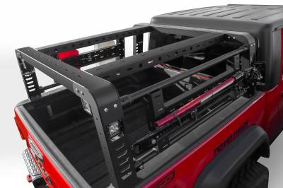 ZROADZ - 2019-2021 Jeep Gladiator Overland Access Rack With Two Lifting Side Gates, Without Factory Trail Rail Cargo System - PN #Z834101 - Image 8