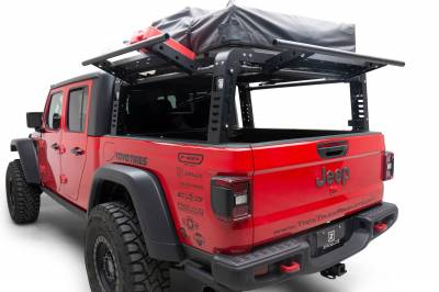 ZROADZ OFF ROAD PRODUCTS - 2019-2021 Jeep Gladiator Access Overland Rack With Three Lifting Side Gates, Without Factory Trail Rail Cargo System - PN #Z834201 - Image 2