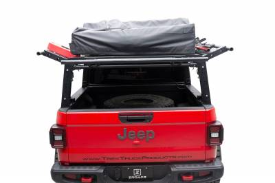ZROADZ - 2019-2021 Jeep Gladiator Access Overland Rack With Three Lifting Side Gates, Without Factory Trail Rail Cargo System - PN #Z834201 - Image 10