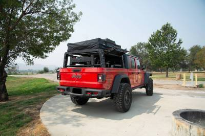 ZROADZ - 2019-2021 Jeep Gladiator Access Overland Rack With Three Lifting Side Gates, Without Factory Trail Rail Cargo System - PN #Z834201 - Image 17