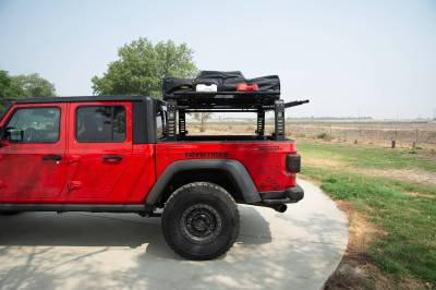 ZROADZ - 2019-2021 Jeep Gladiator Access Overland Rack With Three Lifting Side Gates, Without Factory Trail Rail Cargo System - PN #Z834201 - Image 22