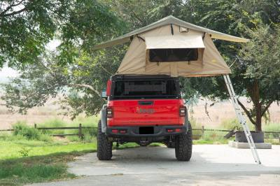 ZROADZ - 2019-2021 Jeep Gladiator Access Overland Rack With Three Lifting Side Gates, Without Factory Trail Rail Cargo System - PN #Z834201 - Image 25