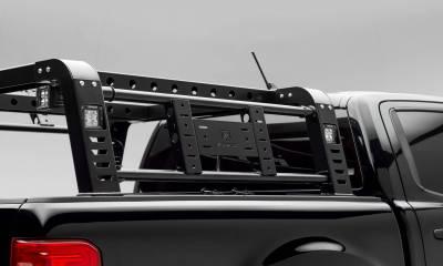 ZROADZ - 2019-2021 Ford Ranger Overland Access Rack With Side Gates with (4) 3 Inch ZROADZ LED Pod Lights - PN #Z835101 - Image 7