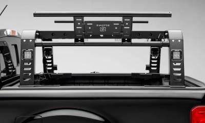 ZROADZ - 2019-2021 Ford Ranger Overland Access Rack With Side Gates with (4) 3 Inch ZROADZ LED Pod Lights - PN #Z835101 - Image 11