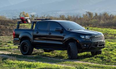 ZROADZ - 2019-2021 Ford Ranger Overland Access Rack With Side Gates with (4) 3 Inch ZROADZ LED Pod Lights - PN #Z835101 - Image 21
