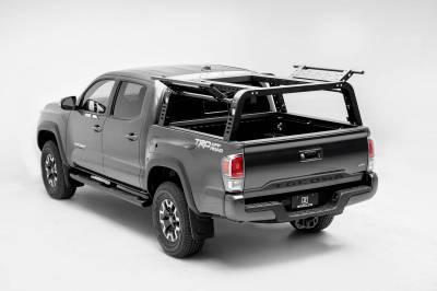 ZROADZ - 2016-2021 Toyota Tacoma Overland Access Rack With Side Gates with (4) 3 Inch ZROADZ LED Pod Lights - PN #Z839101 - Image 1
