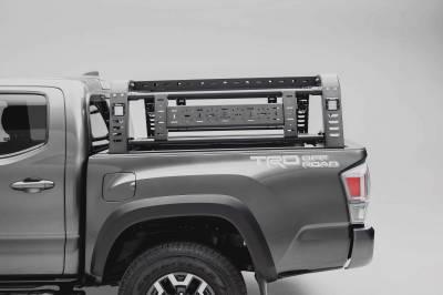 ZROADZ - 2016-2021 Toyota Tacoma Overland Access Rack With Side Gates with (4) 3 Inch ZROADZ LED Pod Lights - PN #Z839101 - Image 4