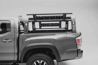 ZROADZ - 2016-2021 Toyota Tacoma Overland Access Rack With Side Gates with (4) 3 Inch ZROADZ LED Pod Lights - PN #Z839101 - Image 5