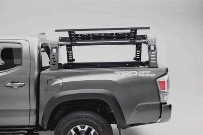 ZROADZ - 2016-2021 Toyota Tacoma Overland Access Rack With Side Gates with (4) 3 Inch ZROADZ LED Pod Lights - PN #Z839101 - Image 6