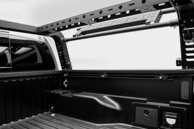 ZROADZ - 2016-2021 Toyota Tacoma Overland Access Rack With Side Gates with (4) 3 Inch ZROADZ LED Pod Lights - PN #Z839101 - Image 10