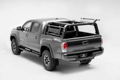 ZROADZ - 2016-2021 Toyota Tacoma Overland Access Rack With Side Gates with (4) 3 Inch ZROADZ LED Pod Lights - PN #Z839101 - Image 18