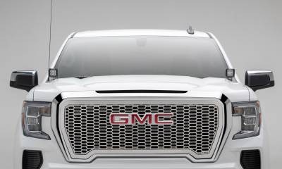 T-REX Grilles - 2019-2021 GMC Sierra 1500 Laser X Grille, Polished, Stainless Steel, 1 Pc, Insert - PN #7712280 - Image 2