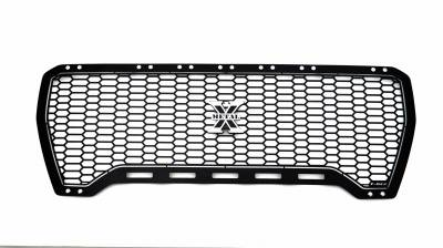 T-REX Grilles - 2019-2021 GMC Sierra 1500 Laser X Grille, Black, Mild Steel, 1 Pc, Insert - PN #7712271 - Image 5