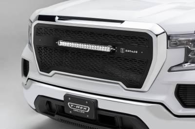 T-REX Grilles - 2019-2021 GMC  Sierra 1500 ZROADZ Grille, Black, Mild Steel, 1 Pc, Insert - PN #Z312281 - Image 1