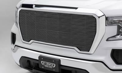 T-REX Grilles - 2019-2021 GMC Sierra 1500 Billet Grille, Polished, Aluminum, 1 Pc, Insert - PN #20213 - Image 1