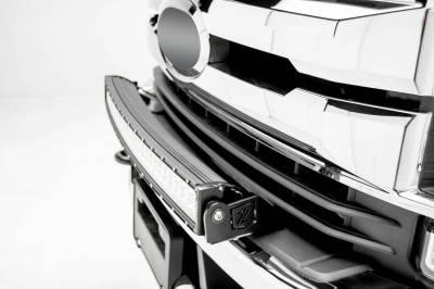 ZROADZ - 2017-2019 Ford Super Duty Front Bumper Top LED Bracket to mount (1) 30 Inch Curved LED Light Bar - PN #Z325472 - Image 2