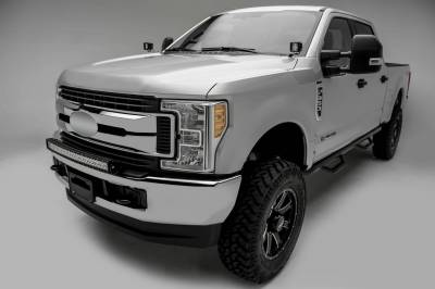 ZROADZ - 2017-2019 Ford Super Duty Front Bumper Top LED Kit with (1) 30 Inch LED Curved Double Row Light Bar - PN #Z325472-KIT - Image 3