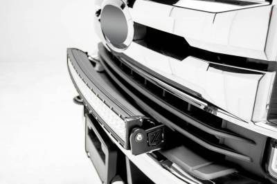 ZROADZ - 2017-2019 Ford Super Duty Front Bumper Top LED Kit with (1) 30 Inch LED Curved Double Row Light Bar - PN #Z325472-KIT - Image 2