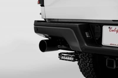 ZROADZ OFF ROAD PRODUCTS - 2018-2021 Ford Rear Bumper LED Kit with (2) 6 Inch LED Straight Single Row Slim Light Bars - PN #Z385662-KIT - Image 5