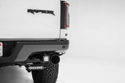 ZROADZ OFF ROAD PRODUCTS - 2018-2021 Ford Rear Bumper LED Kit with (2) 6 Inch LED Straight Single Row Slim Light Bars - PN #Z385662-KIT - Image 6