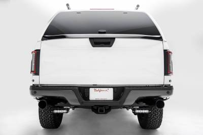 ZROADZ OFF ROAD PRODUCTS - 2018-2021 Ford Rear Bumper LED Kit with (2) 6 Inch LED Straight Single Row Slim Light Bars - PN #Z385662-KIT - Image 7