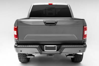 ZROADZ OFF ROAD PRODUCTS - 2018-2021 Ford Rear Bumper LED Kit with (2) 6 Inch LED Straight Single Row Slim Light Bars - PN #Z385662-KIT - Image 10