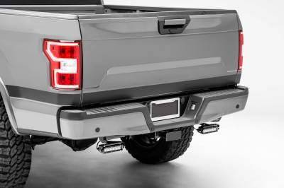 ZROADZ OFF ROAD PRODUCTS - 2018-2021 Ford Rear Bumper LED Kit with (2) 6 Inch LED Straight Single Row Slim Light Bars - PN #Z385662-KIT - Image 11